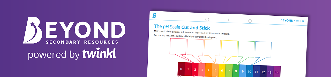 Make your own pH scale