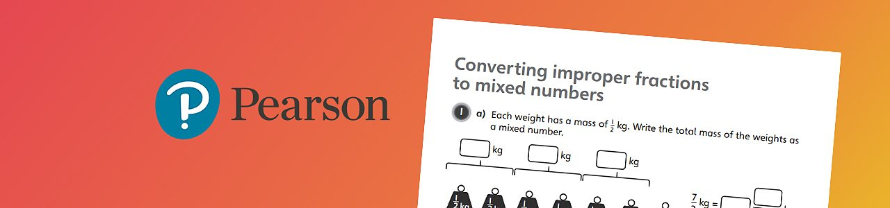 Converting improper fractions and mixed numbers worksheet 2