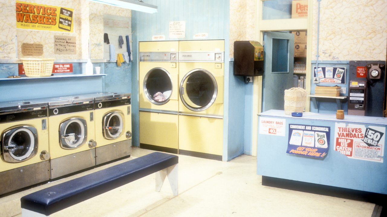 EastEnders - laundrette, 1986