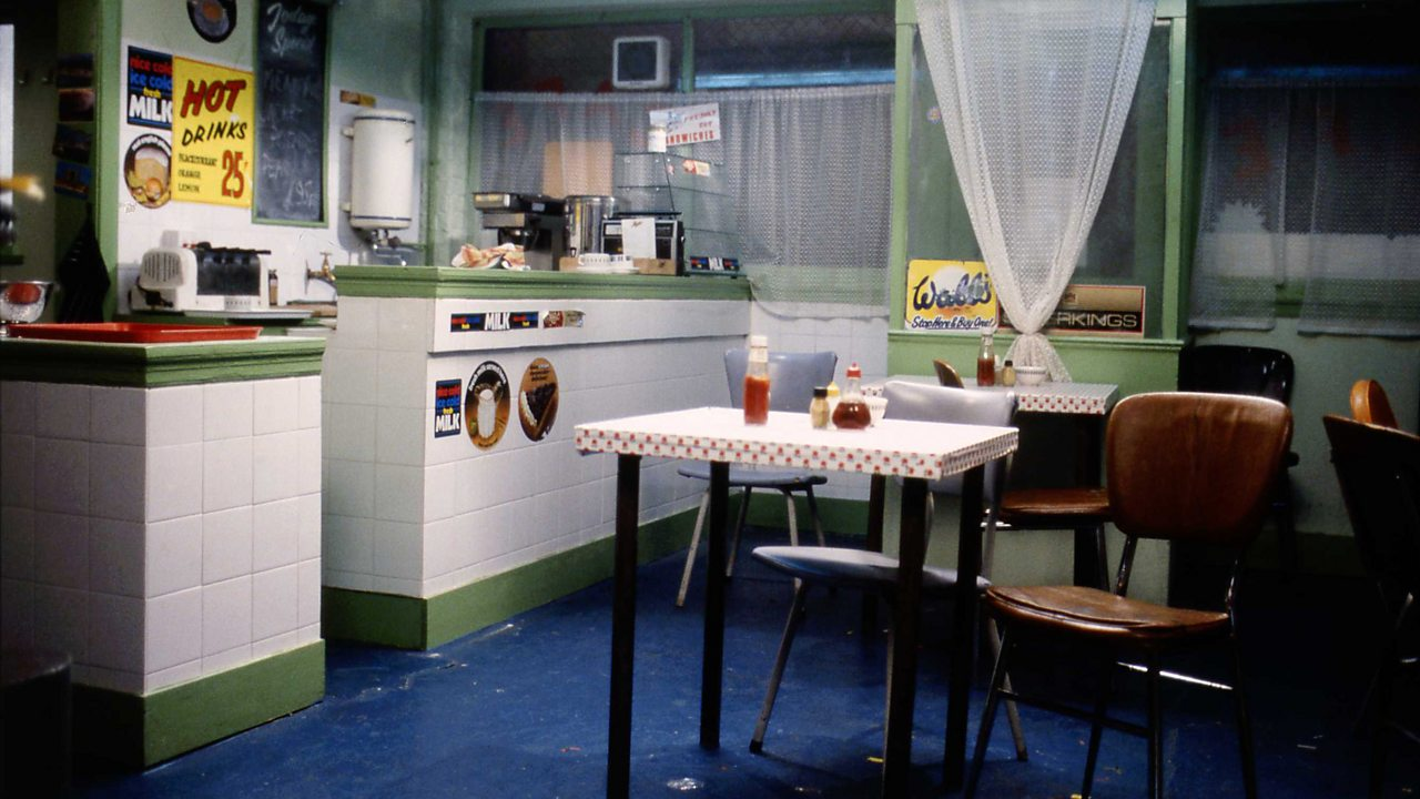 EastEnders - cafe interior, 1988