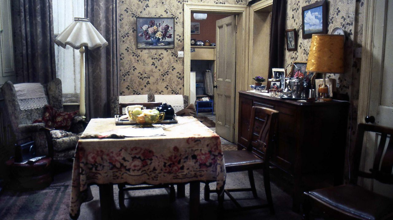 EastEnders - Fowler's living room, 1988