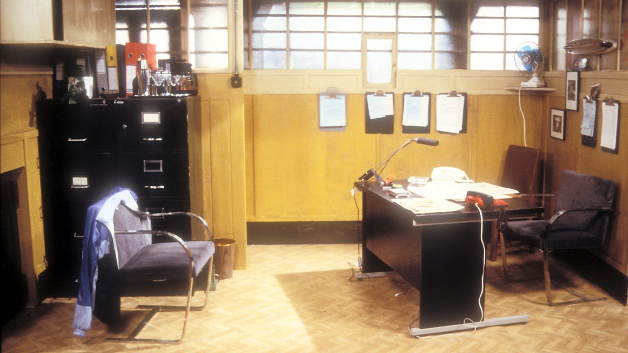 EastEnders - office, 1988