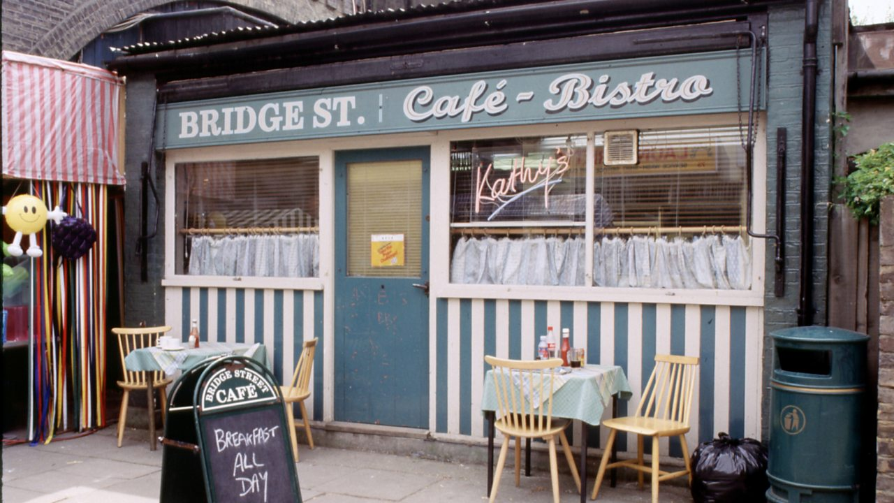 EastEnders - Cafe exterior, 1999