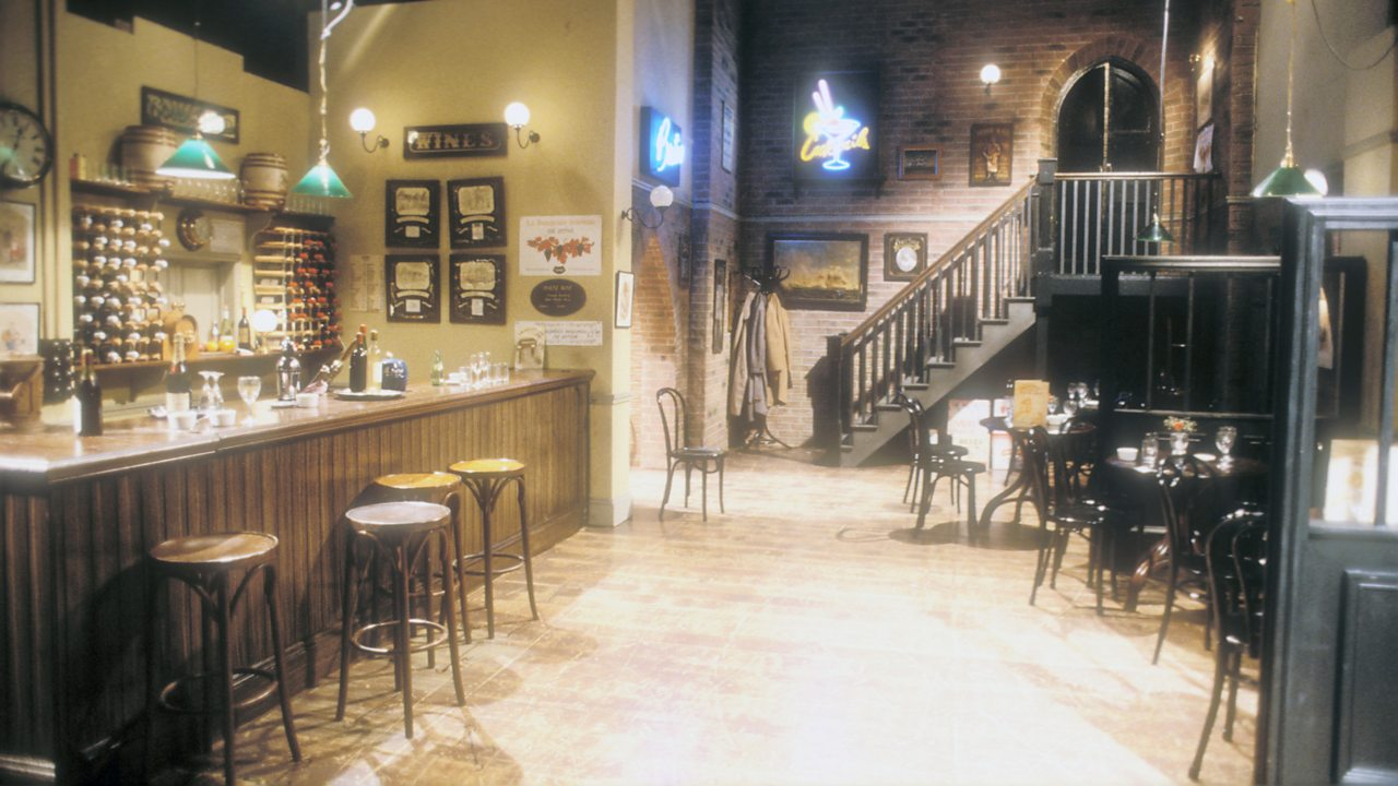 Only Fools and Horses - Wine bar, 1988