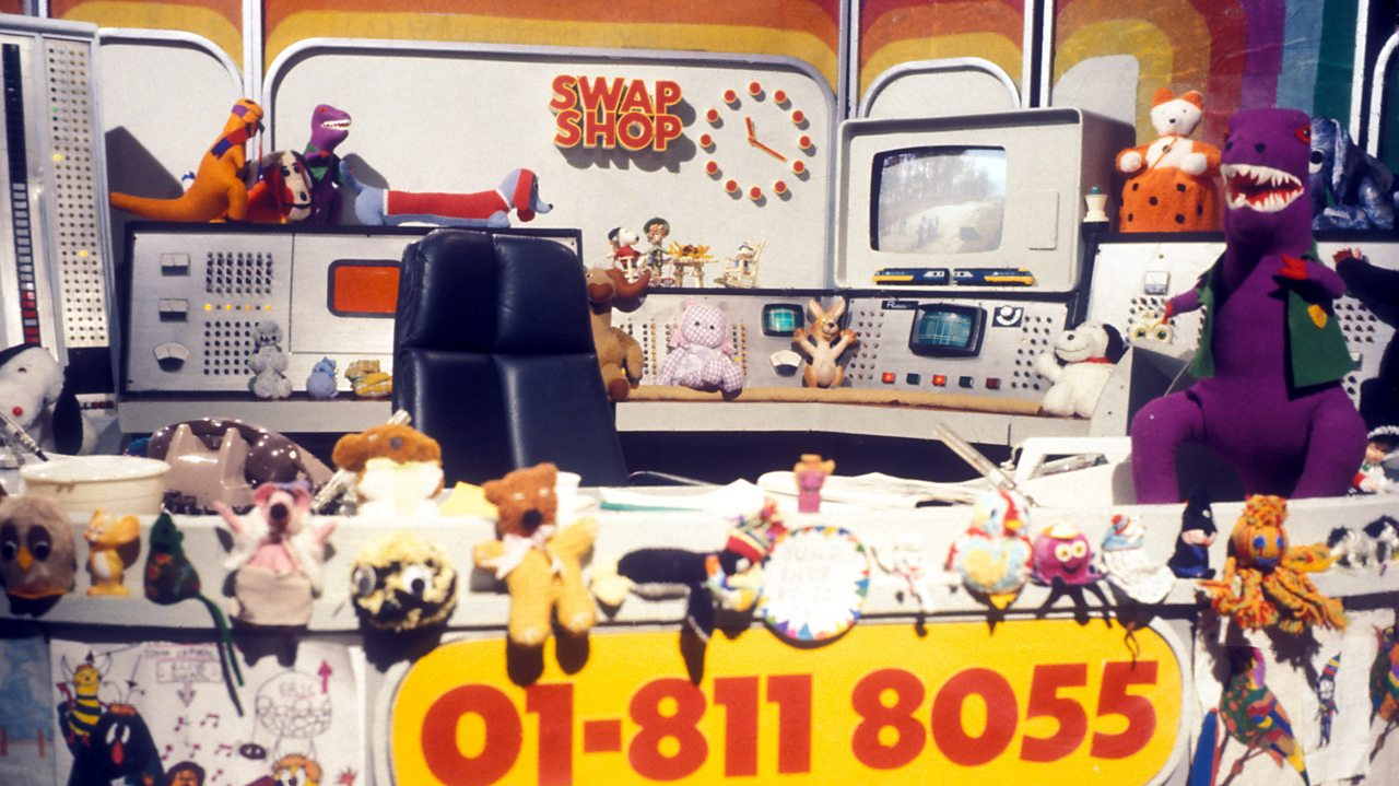 Multi-Coloured Swap Shop - desk, 1976