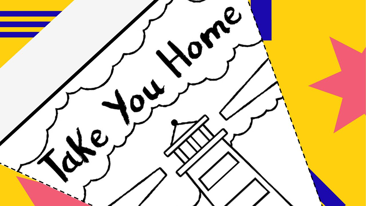 Colour in your own bunting for VE Day 75