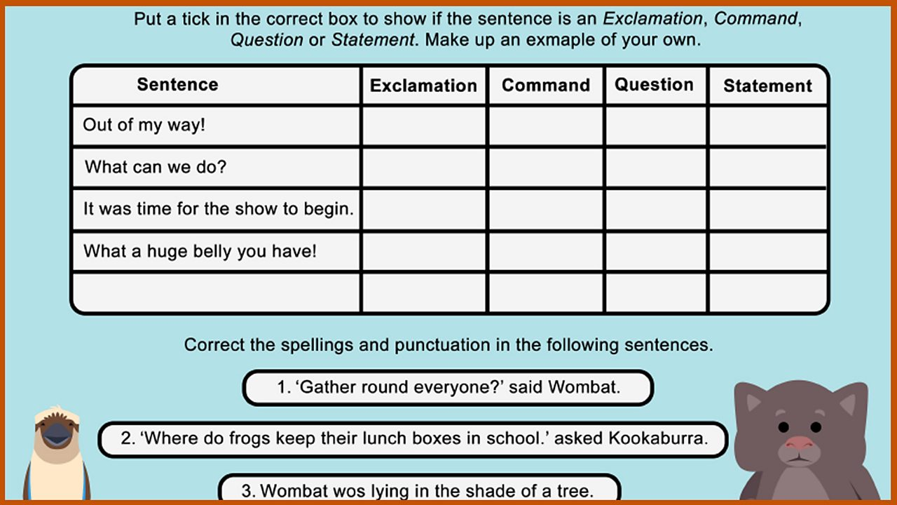 Resource Sheet 10: Grammar and Proofreading