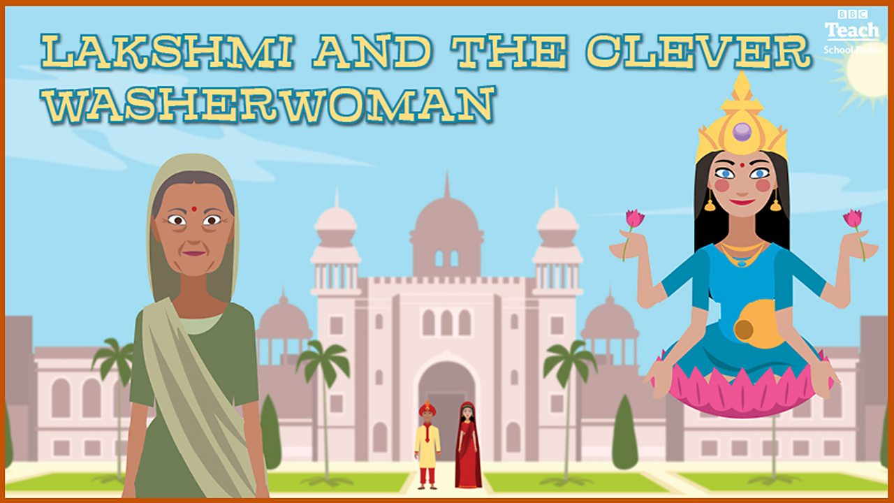 Lakshmi and the Clever Washerwoman