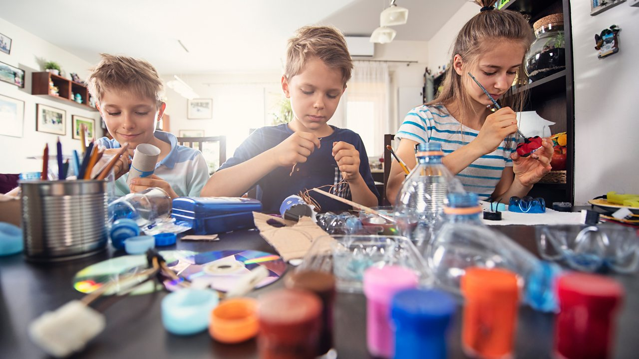 Up-cycling at home: ideas to get crafty with your kids