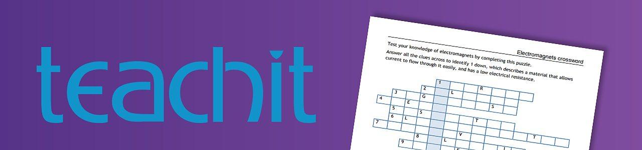 Electromagnet Crossword