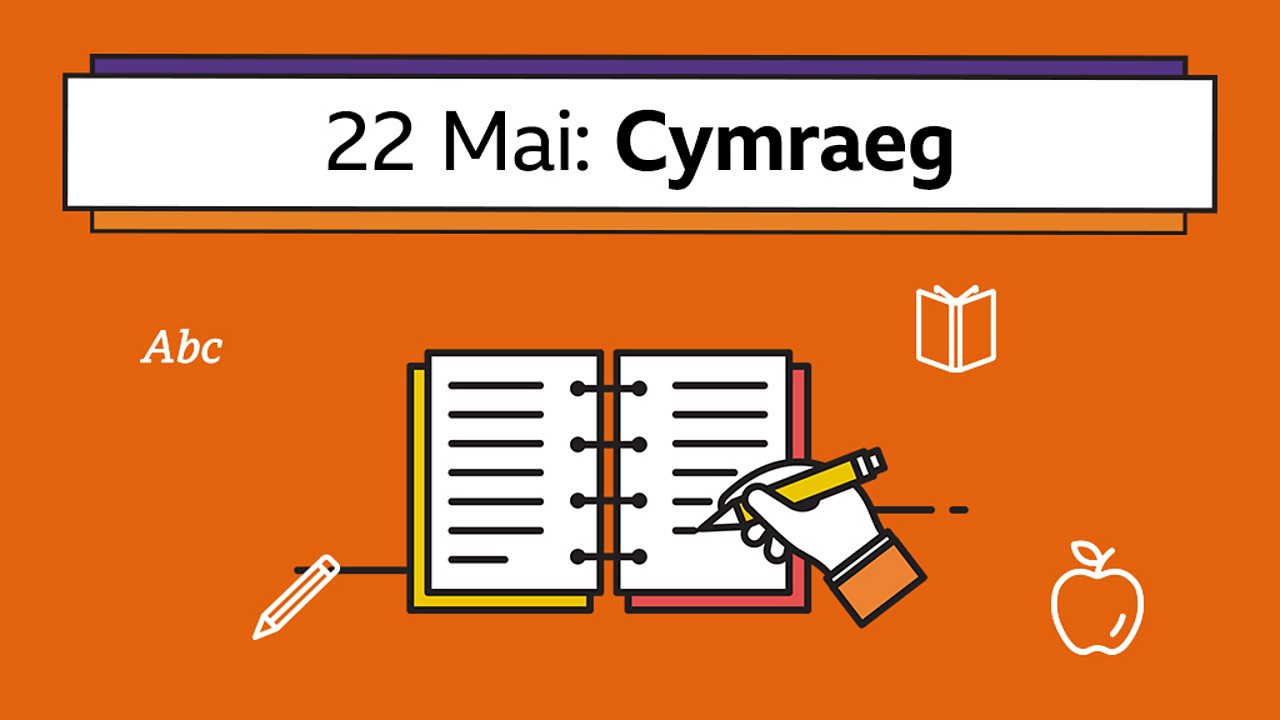 Cynllunio poster (Designing a poster)