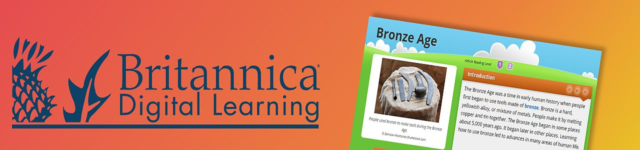 Britannica Bronze Age activity