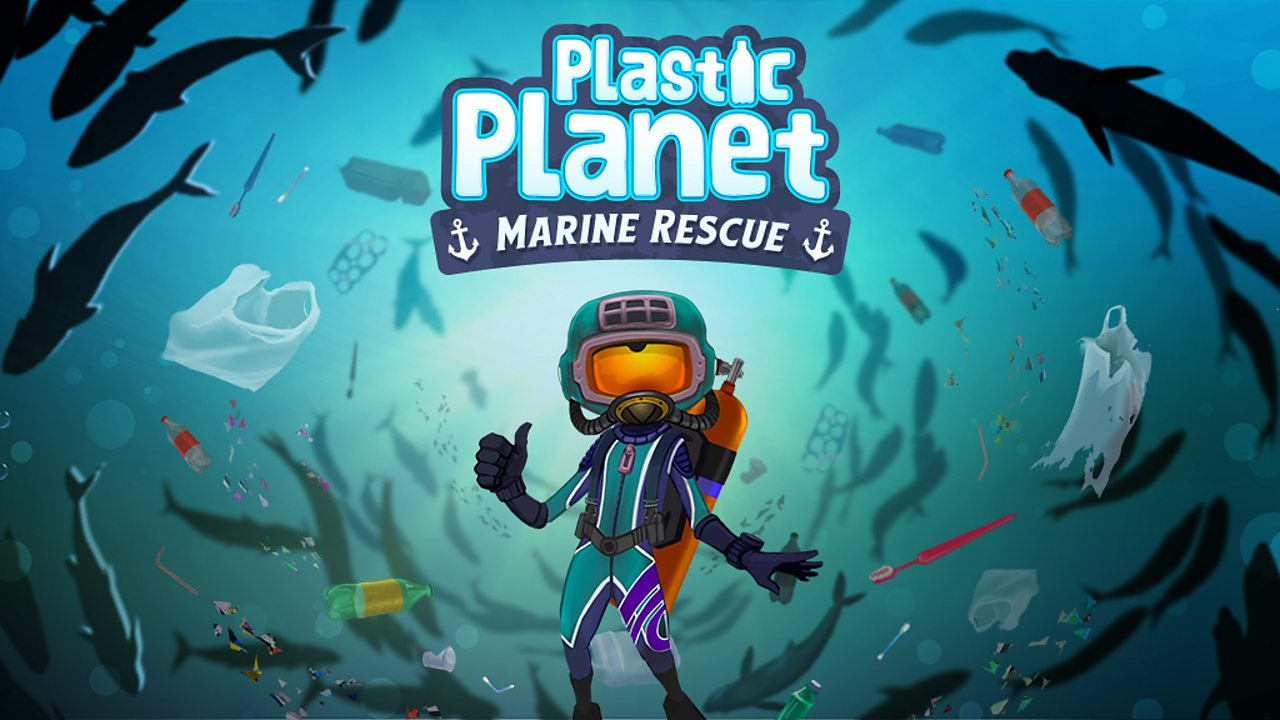 Save the seas in the Plastic Planet Marine Rescue game