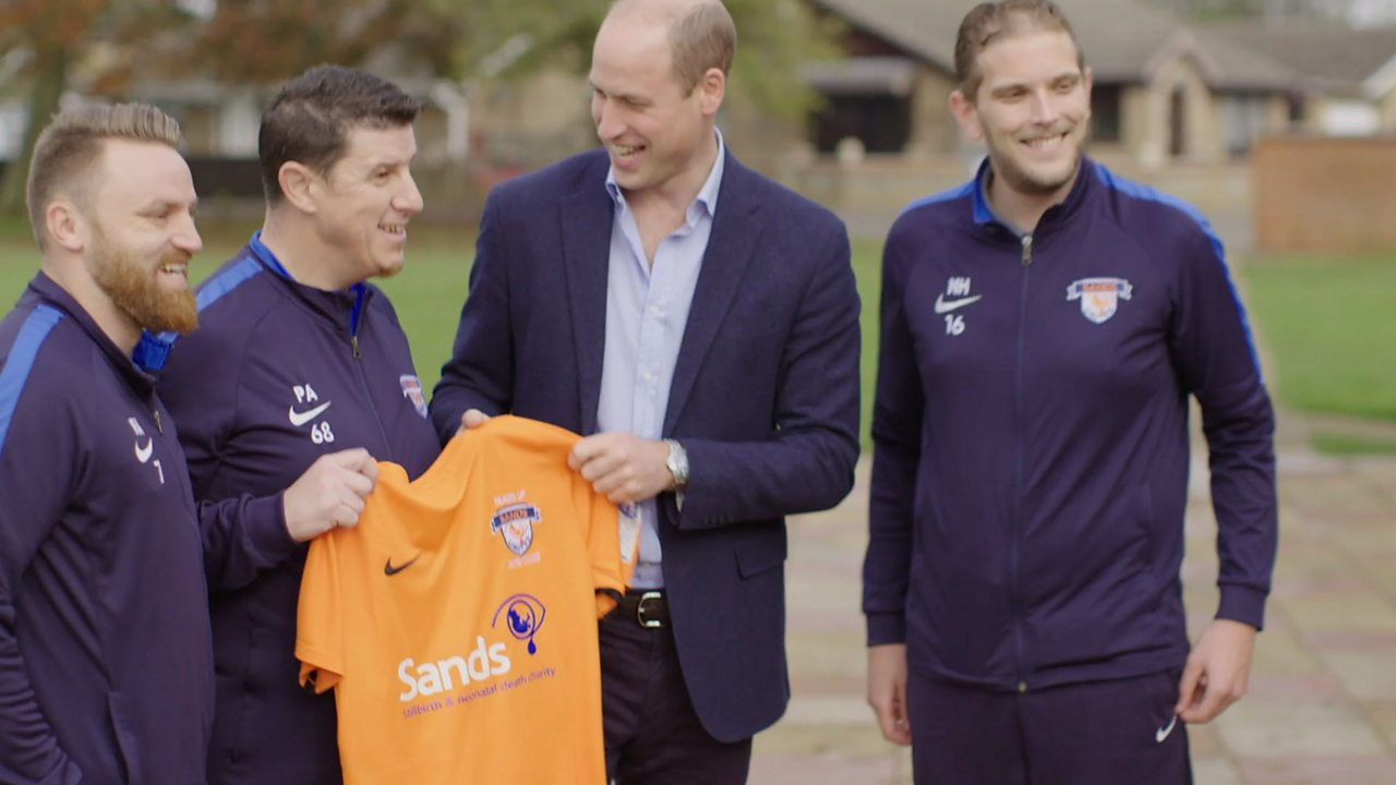 Football, Prince William and Our Mental Health