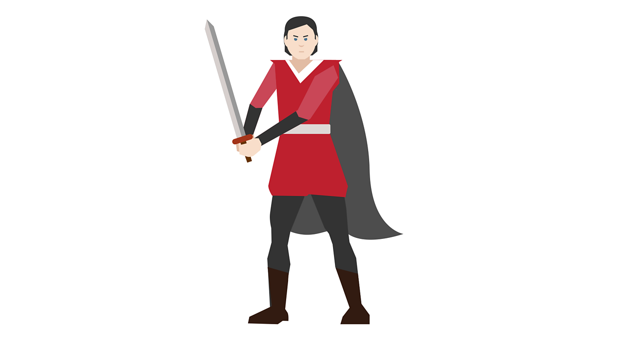 Illustration of Tybalt, Juliet's cousin