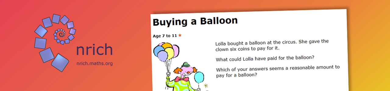 Buying a balloon