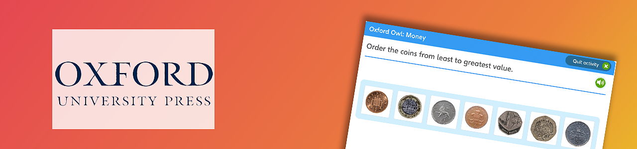 Order the coins from least to greatest value
