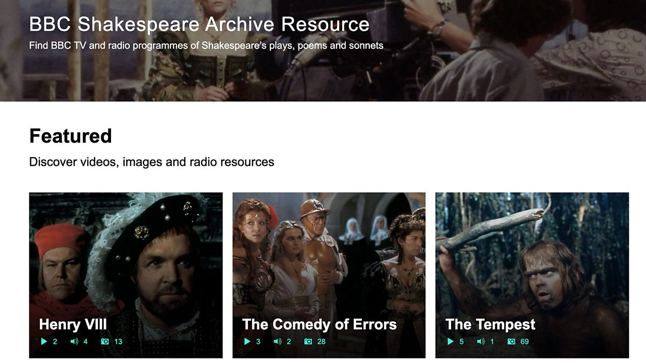 BBC Shakespeare Archive Resource