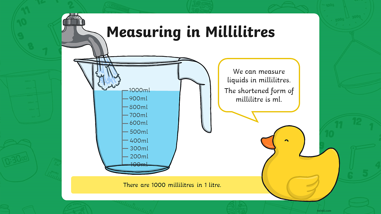 Measuring in millilitres - Year 2 - P3 - Maths - Home Learning with BBC Bitesize - BBC Bitesize