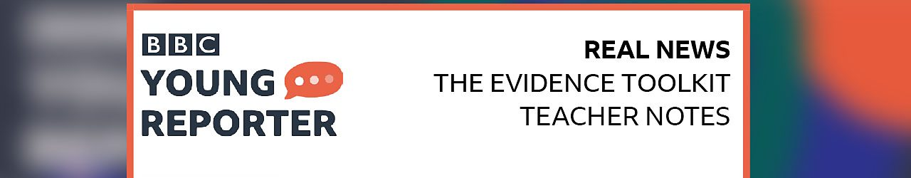 The Evidence Toolkit Excercise - Teacher notes