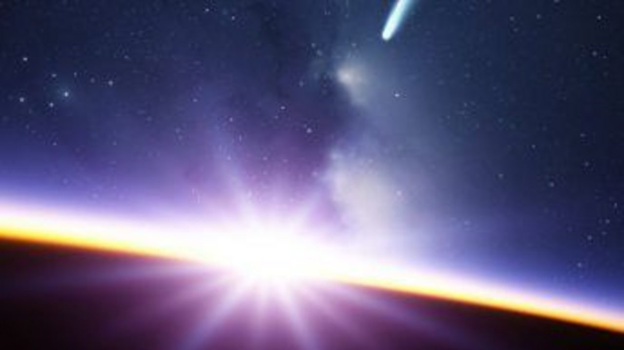 Did comets kick start life on Earth?