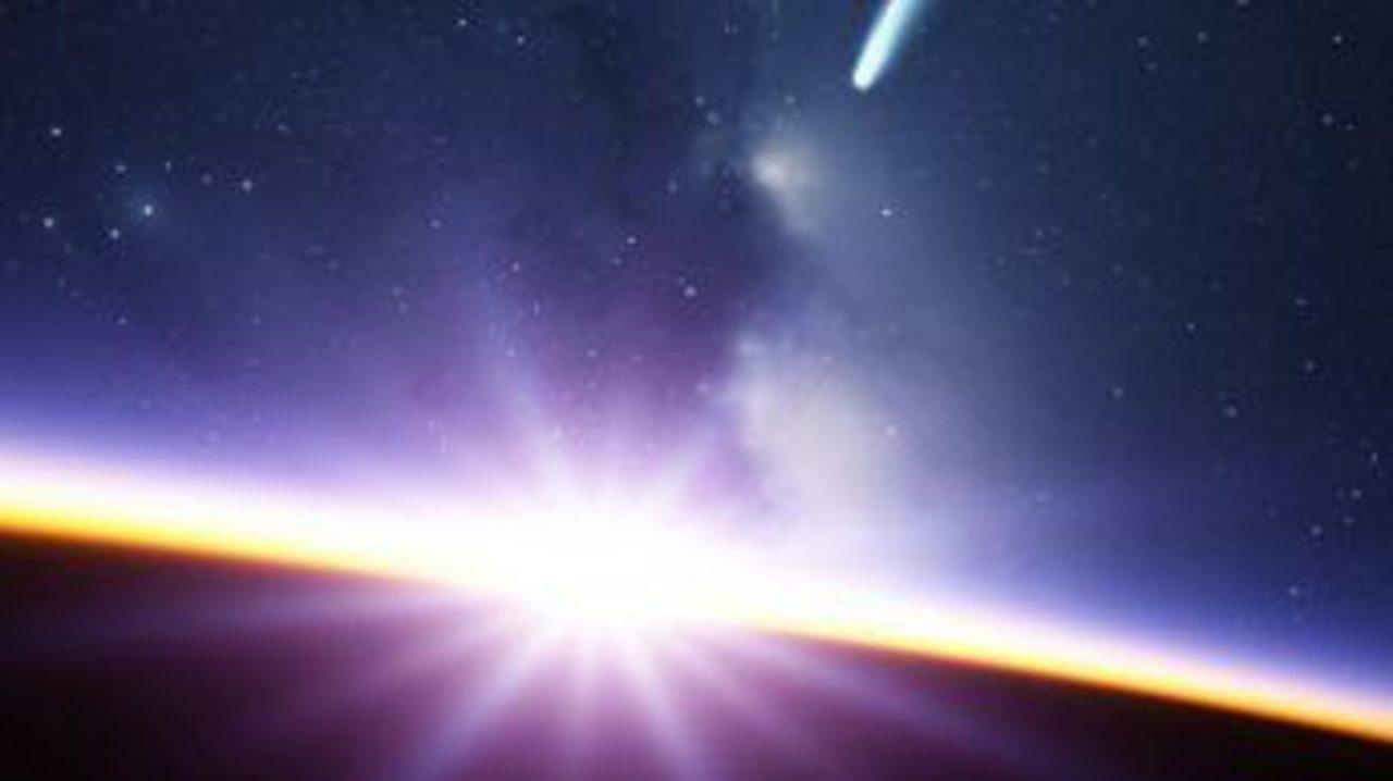Did comets kick start life on Earth?