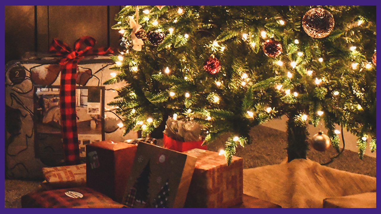 2. The presents underneath