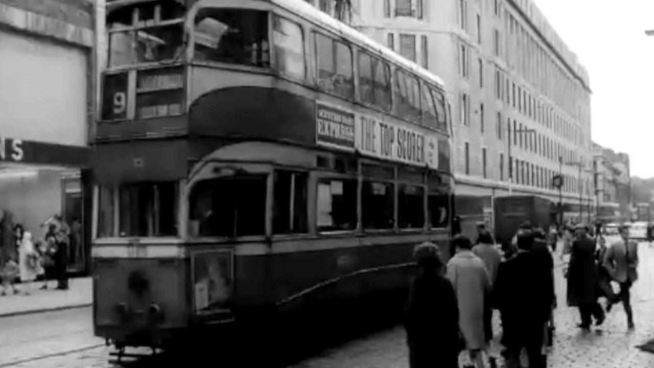 Glasgow's last tram, 1962
