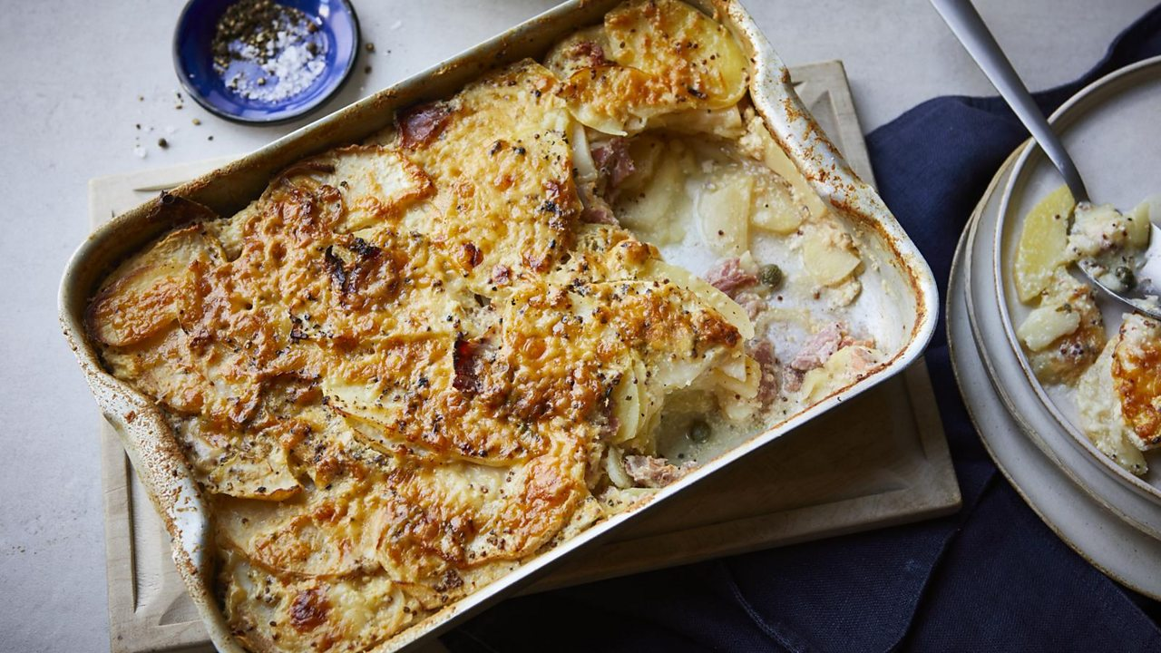 Click or tap for my simple winter gratin – a great dish for loading up the oven