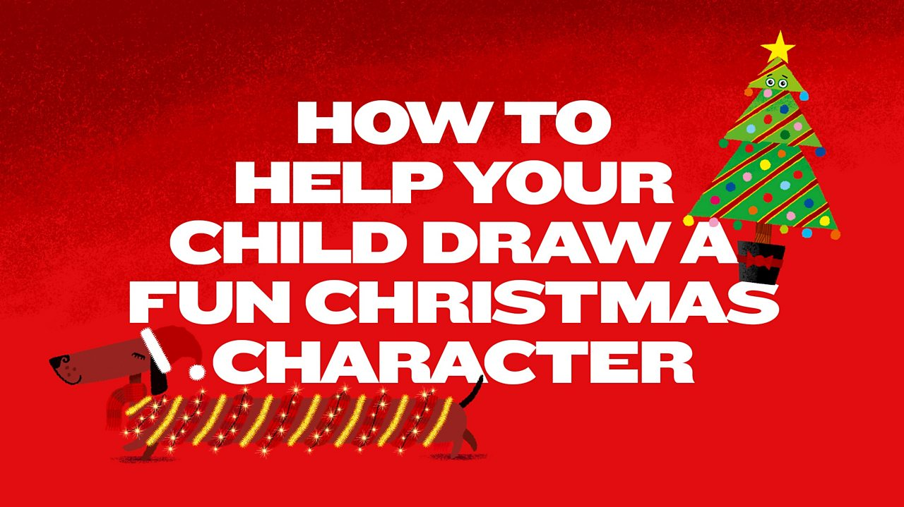 Rob Biddulph: How to help your child draw a fun Christmas character