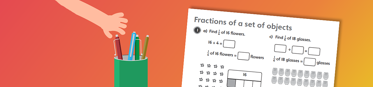 Fractions of a set of objects