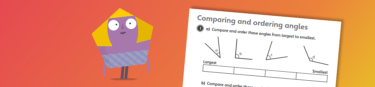 Compare and order angles