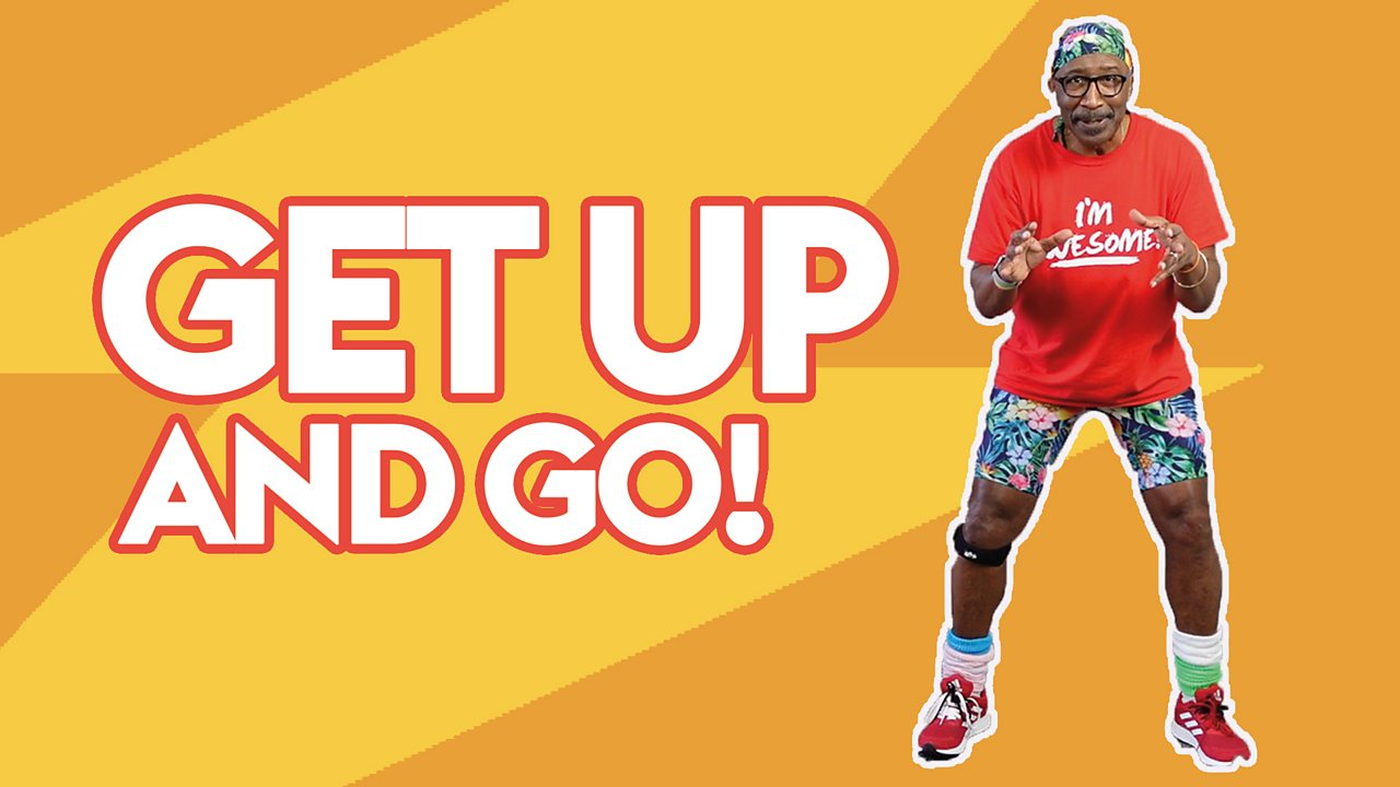 Get up and go with Mr Motivator!