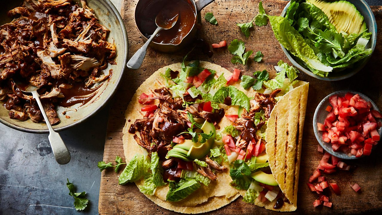 Chocolate is a good flavour match for poultry and chilli. Try it in this chicken taco recipe.