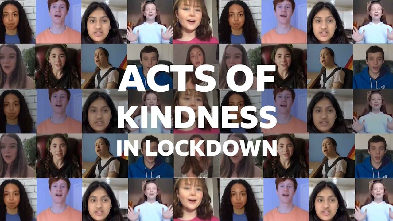 Acts of kindness during lockdown