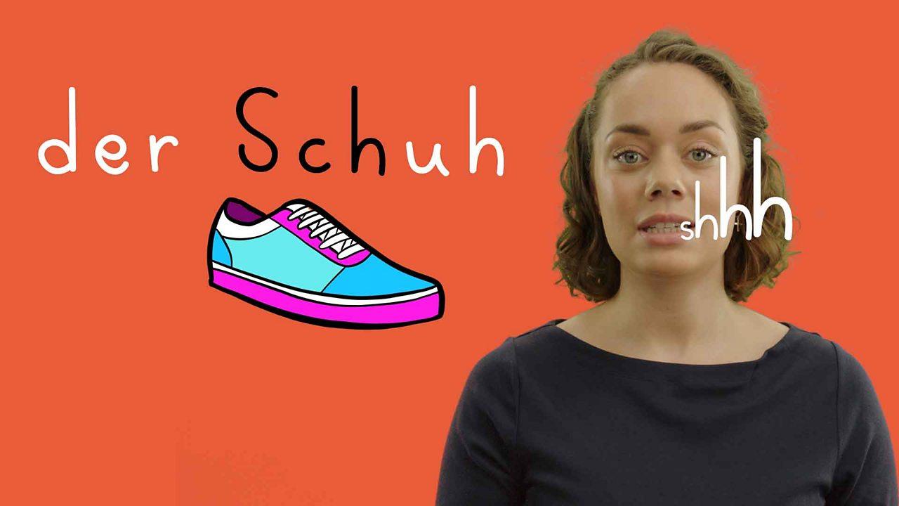 Pronouncing words in German