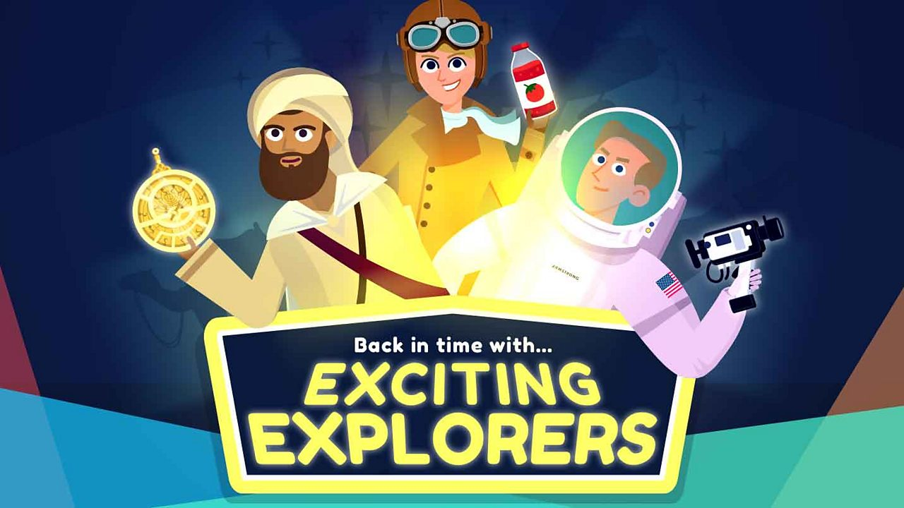 Game - Back in time with... Exciting Explorers