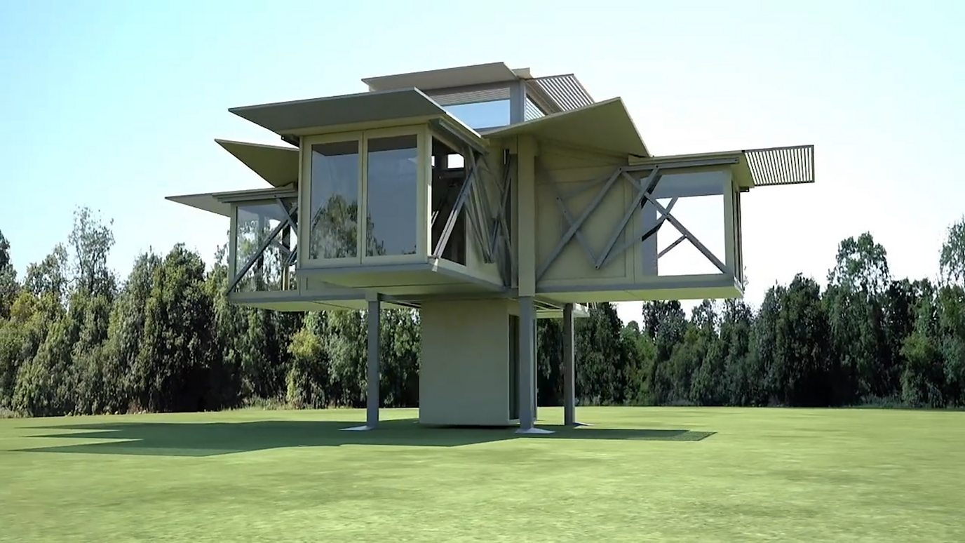The amazing homes that build themselves - BBC Reel on zombie proof home plans, zombie proof home designs, zombie proof house blueprints,