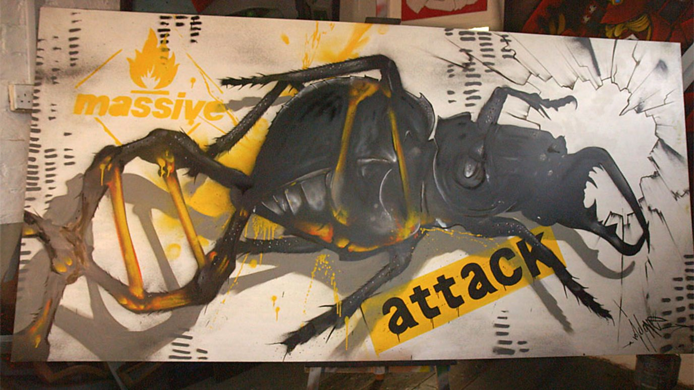 Massive Attack album stored in a painting using DNA - BBC Reel
