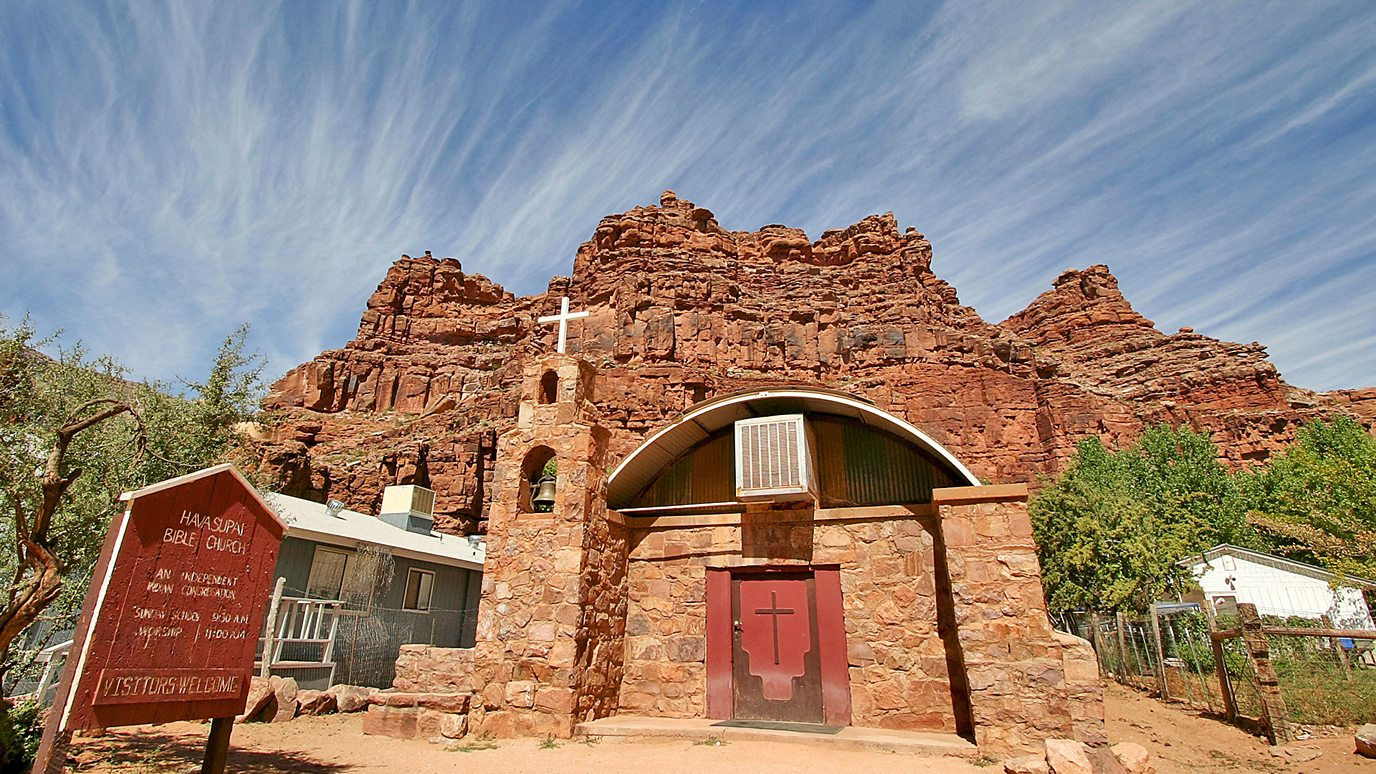 Grand Canyon Village >> The Remote Village Hidden Inside The Grand Canyon Bbc Reel