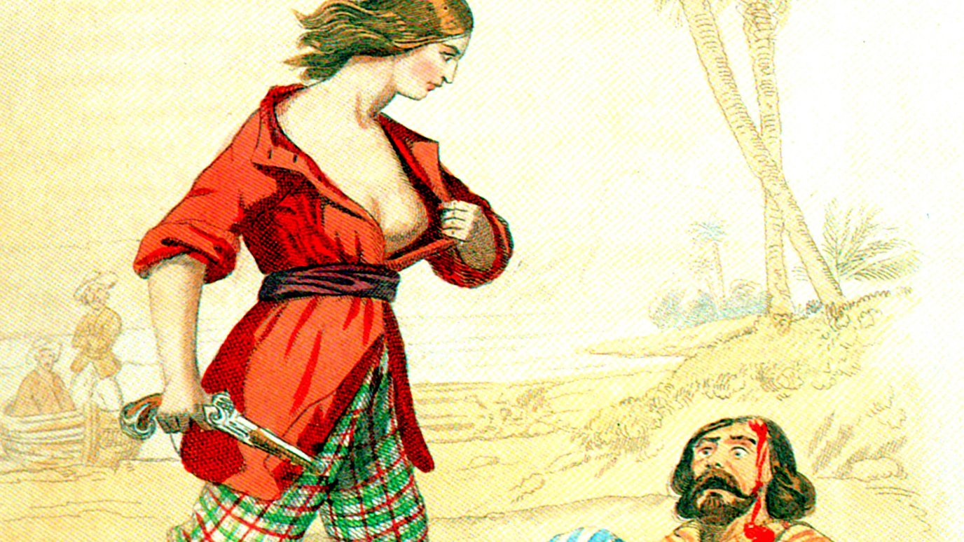 Behind the myth of a breast-baring pirate - BBC Reel