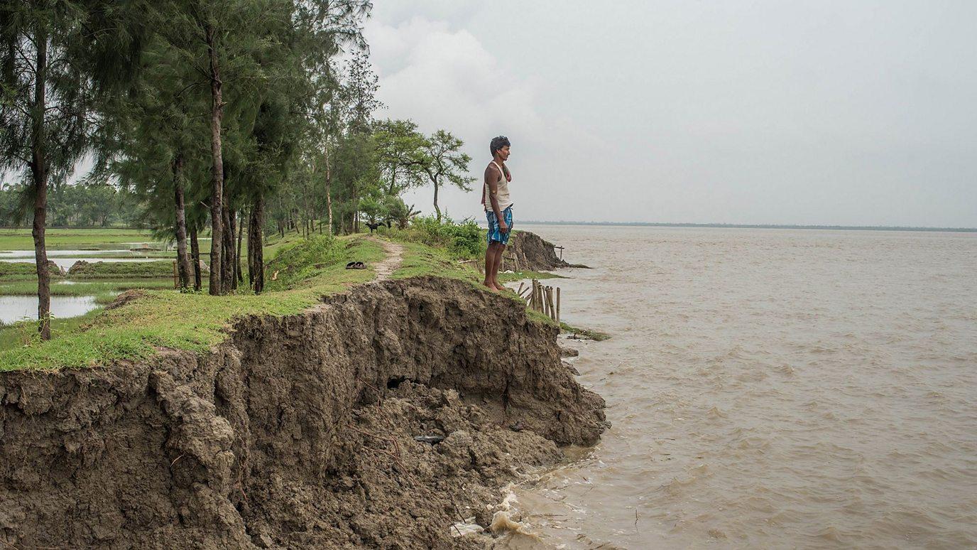 The tiny island sinking into the sea - BBC Reel