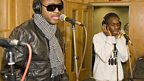Tinchy Stryder in the Live Lounge - 19 Jan 2009 - 1