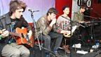 Klaxons in the Live Lounge - 21 October 2010 - 5