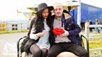 Sarah Jane with Maverick Sabre at BBC Radio 1's Big Weekend