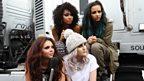 Little Mix backstage at Big Weekend