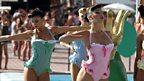 Dancing at the Ushuaia Ibiza Beach Hotel