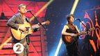 Anaïs Mitchell and Jefferson Hamer at the 2014 Folk Awards