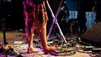 Kizzy Crawford at Glastonbury 2014
