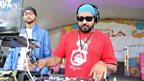 DJ Surinder Rattan on the Main Stage
